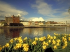 View of the City from banks of the River Clyde, Glasgow, Scotland Source:© Britainonview / - Britain on View