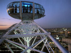 A pod on the London Eye high above the London skyline at night Source:© Britainonview / Pawel Libera