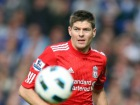 Liverpool's Steven Gerrard in action Source:Action Images / Carl Recine