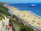 The beach towards the pier, Bournemouth, Dorset, England Source:© Britainonview / - Britain on View