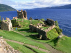 Loch Ness behind Urquart Castle, Highland, Scotland Source:© Britainonview / - Britain on View