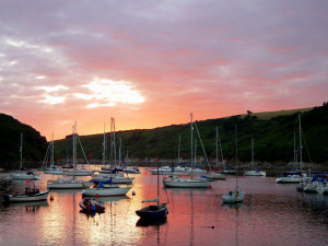 Sunset in Devon Source:© colin_cheesman (Flickr)