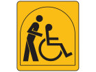 Typically suitable for a person who depends on the use of a wheelchair in a seated position. This person also requires personal or mechanical assistance (e.g. carer, hoist)