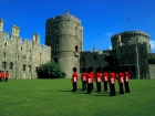 Changing of the Guard in Windsor Castle Grounds, Windsor, Berkshire, England Source:© Britainonview / - Britain on View