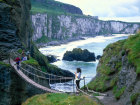 Rope bridge, Carrick a Rede, County Antrim, Northern Ireland Source:© Britainonview / - Britain on View