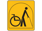 Typically suitable for a person with restricted walking ability and for those that may need to use a wheelchair some of the time and can negotiate a maximum of three steps