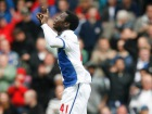Mame Biram Diouf celebrates after scoring his teams first goal Source:Action Images / Paul Thomas