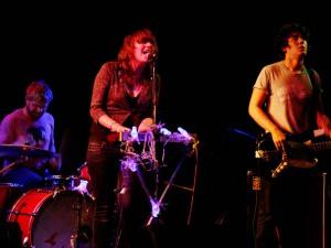 Sky Larkin play the Swn Festival Source:Hannah Webster