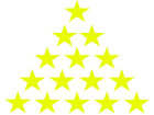 Quality rating stars