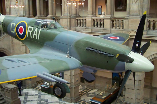 Spitfire at Kelvingrove Museum Source:markyharky
