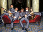 The Beatles waxwork models in Madame Tussauds, Marylebone, London, England Source:© Britainonview / - Britain on View