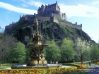 The Castle, Edinburgh, Lothian, Scotland © Britainonview / - Britain on View Source:VBimages - 21962040