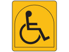 Typically suitable for a person who depends on the use of a wheelchair and transfers unaided to and from the wheelchair in a seated position. This person may be an independent traveller