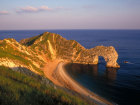 Sunlight shining down along the rugged and jurassic coastline at Durdle Door in Dorset Source:© Britainonview / - Britain on View