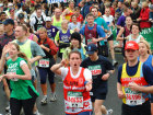 Fun runners taking part in the London Marathon, London,  England Source:© Britainonview / Grant Pritchard
