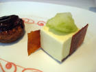 Desserts at Restaurant Gordon Ramsay
