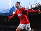 Dimitar Berbatov celebrates scoring the first goal for Manchester United Source:Action Images / Jason Cairnduff