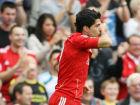 Luis Suarez - Liverpool celebrates scoring his teams first goal  Source:Credit: Action Images / Carl Recine